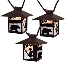 Bear Animal Wilderness Party Lights