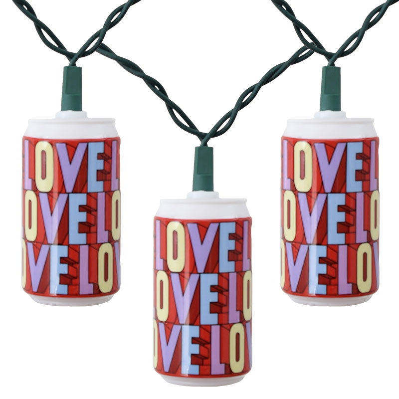 Beatles Yellow Submarine Love Party String Lights