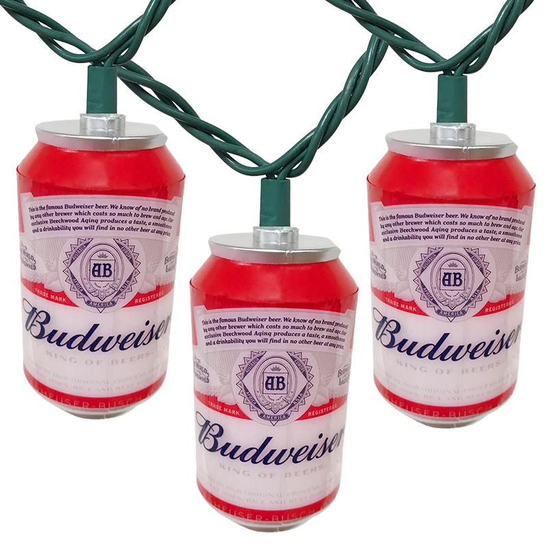 Budweiser Can Novelty String Lights