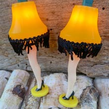 A Christmas Story Leg Lamp Party Lights