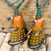 Dr. Who Bronze Dalek Party String Lights