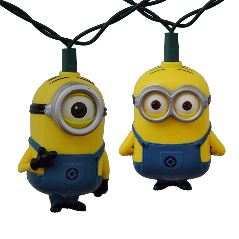 Despicable Me Minion Party String Lights