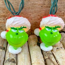 Grinch Party String Lights - 10 Lights GRH9181