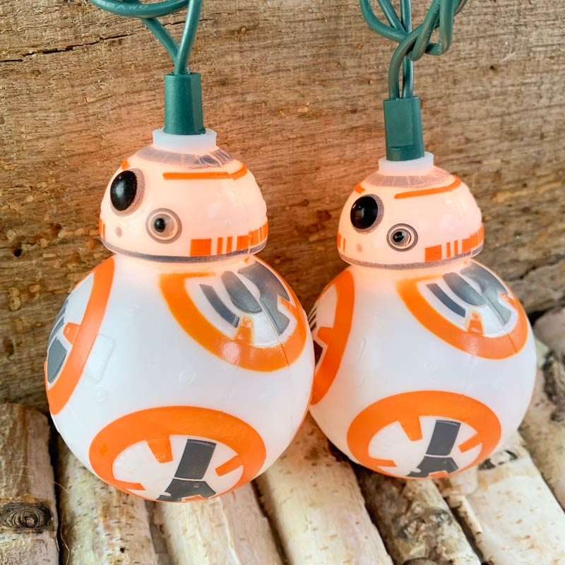 Star Wars BB-8 Party String Lights