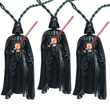 Star Wars Darth Vader Party String Lights - 10 Lights SW9176