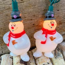 Frosty the Snowman Christmas Novelty Lights