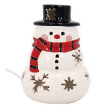 DE-13959-Ceramic-Snowman-Nightlight