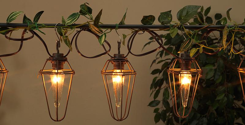 Galvanized Metal String Party Lights : Designer Party Lights, Designer String Lights & Metal String Lights - Decorative Lighting ...