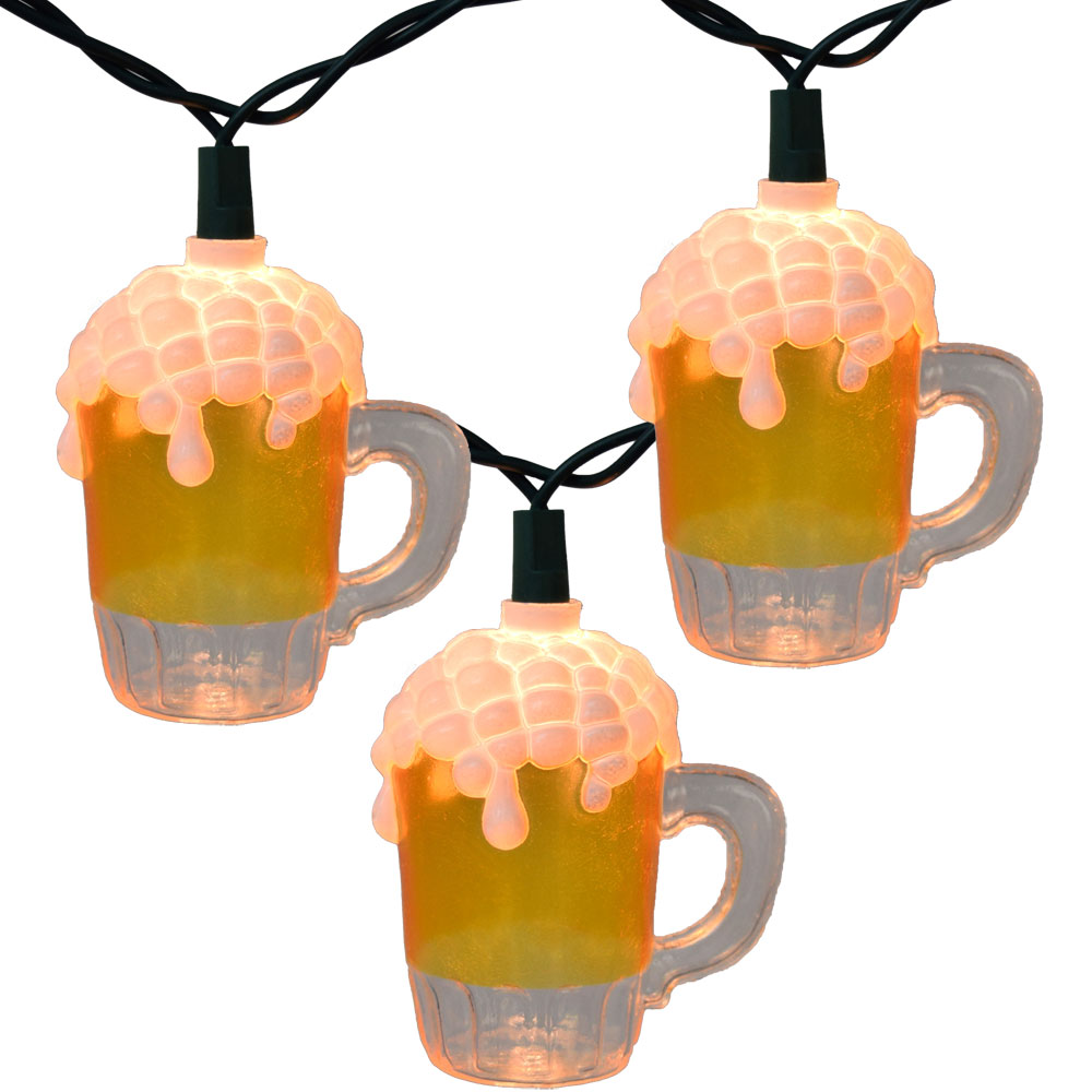 Beer Mug Party String Lights