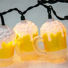 Beer Mug Party String Lights UL0565