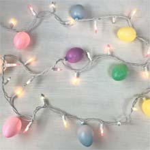 Easter Egg Party String Lights - 50 Lights DR-620219
