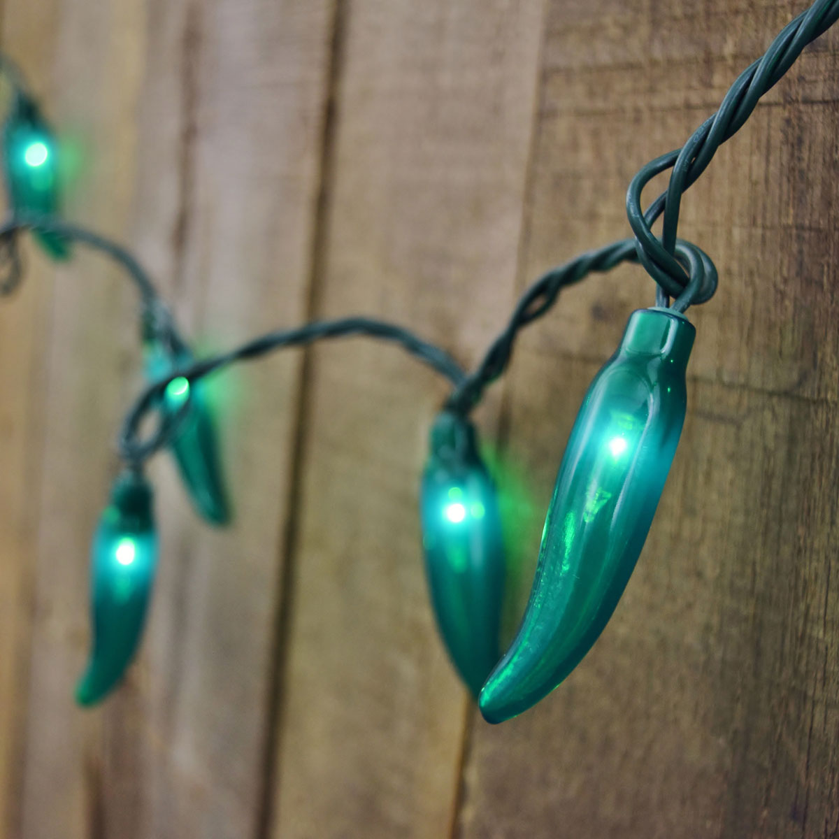 35 Count Green Chili Pepper String Lights