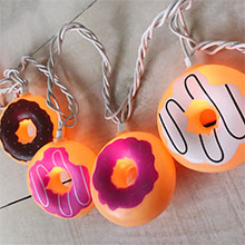 Donut Party String Lights - 10-Count DE-70247