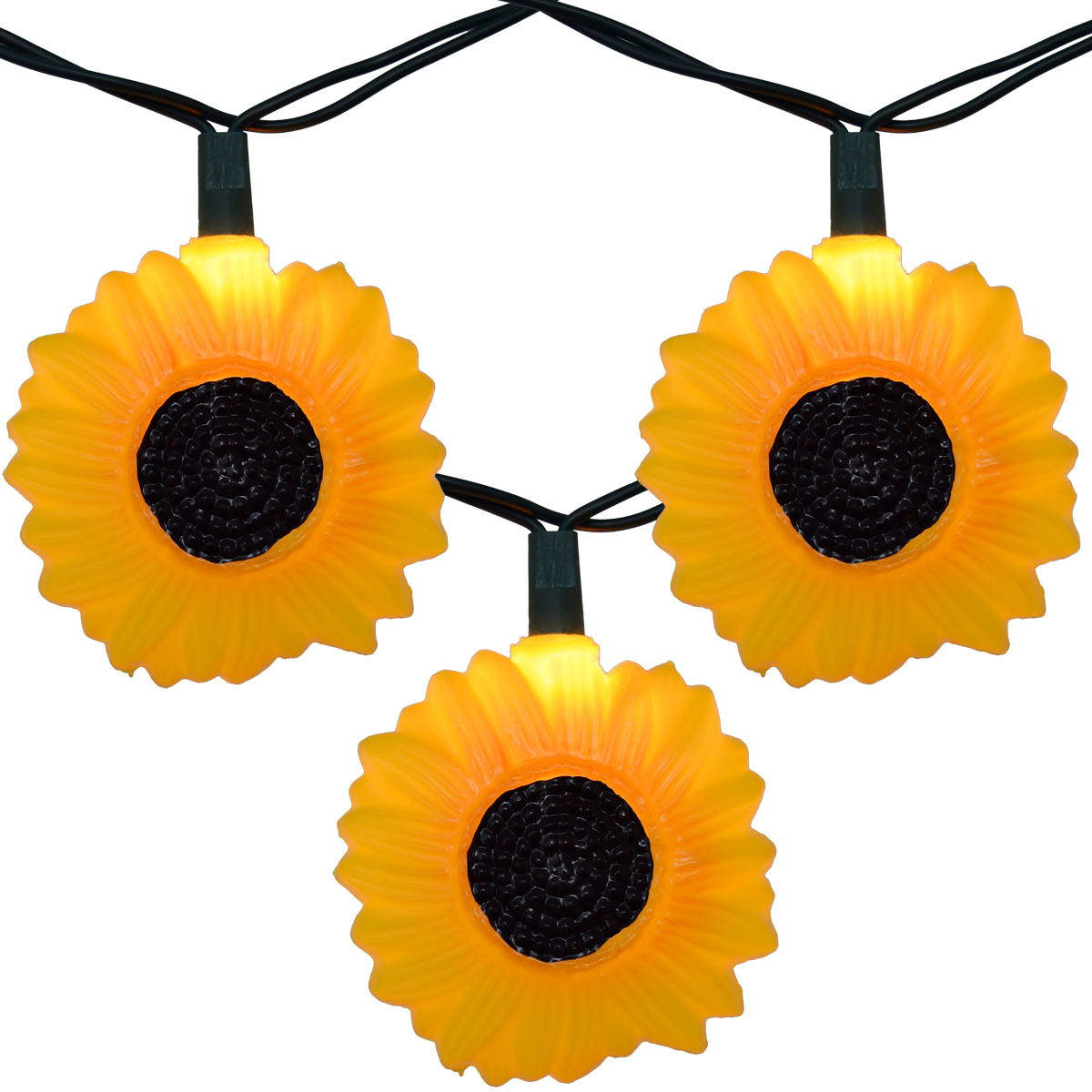 sunflower party string lights