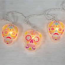Day of the Dead Party String Lights - 10 Lights