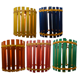 promo code 34203 cf352 Multi-Color Bamboo Matchstick Lantern String Lights