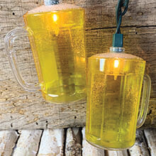 Beer Stein String Lights                                     DE-70170