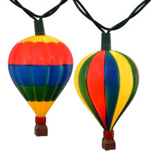 Hot Air Balloon Party String Lights - 10 Lights UL4292