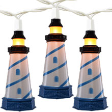 Lighthouse Party String Lights