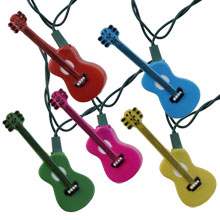 Multi-Color Guitars Party String Lights