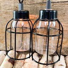 Vintage Style Edison Cage String Lights