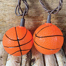 Basketball String Lights                                     DE-70212