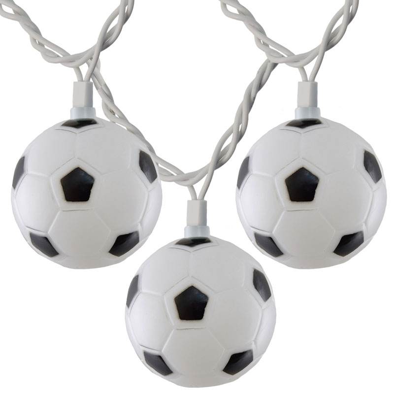 Soccer Ball Party String Lights 10 De 70211