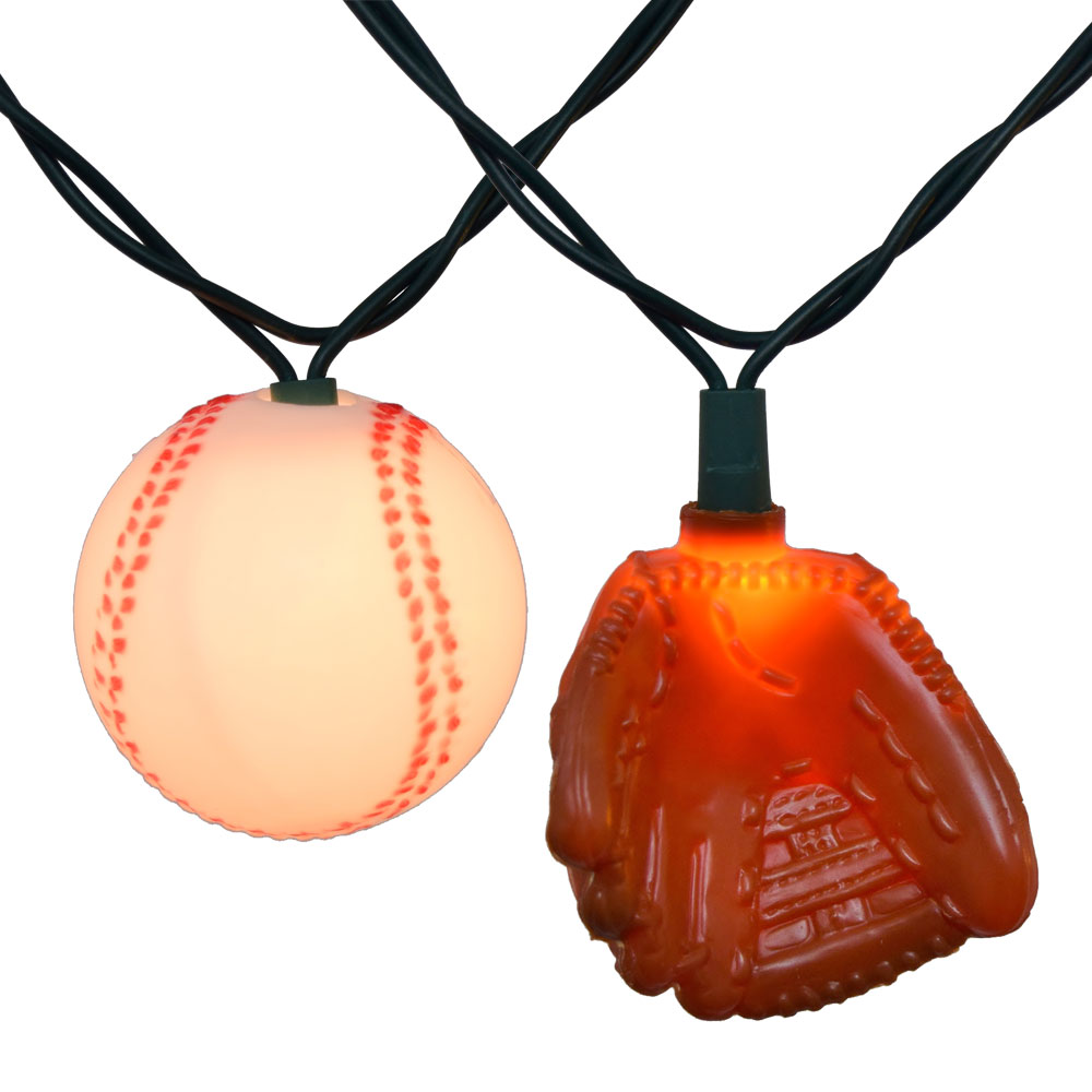 Baseball And Glove Party String Lights