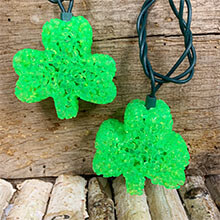 Green Shamrock St. Patrick's Day String Lights