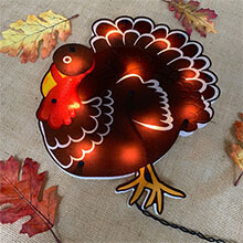 Shimmering Turkey Wall Art PD-82492