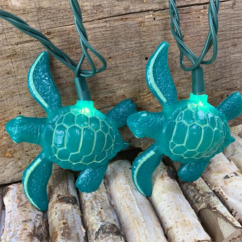 Turtle String Lights Sea Turtles