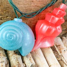 Sea Shells Party String Lights