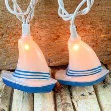 Sail Boat party string lights