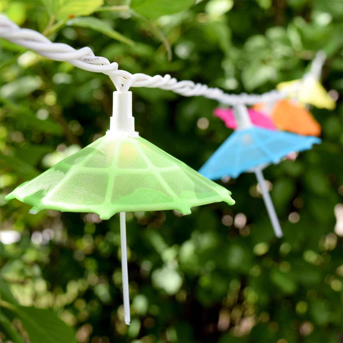 Gentil Mini Umbrella Party String LIghts