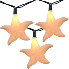 Starfish Party String Lights - 10 Lights