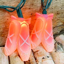 Ballet Slippers Party String Lights