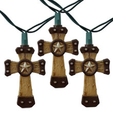 Western Cross Party String Lights