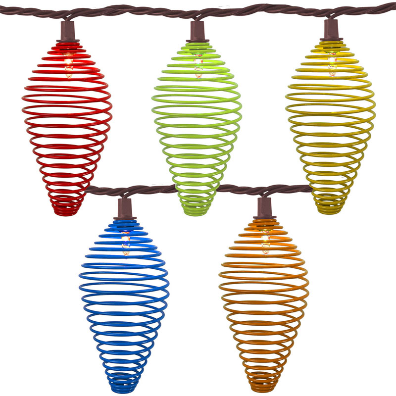Delicieux Multi Color Wire Tear Drop Patio Lights