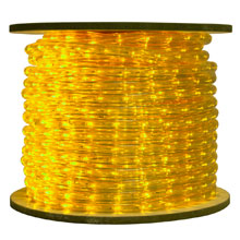 Yellow LED Rope Light Reel