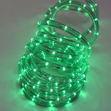 Green LED Rope Light Christmas Light