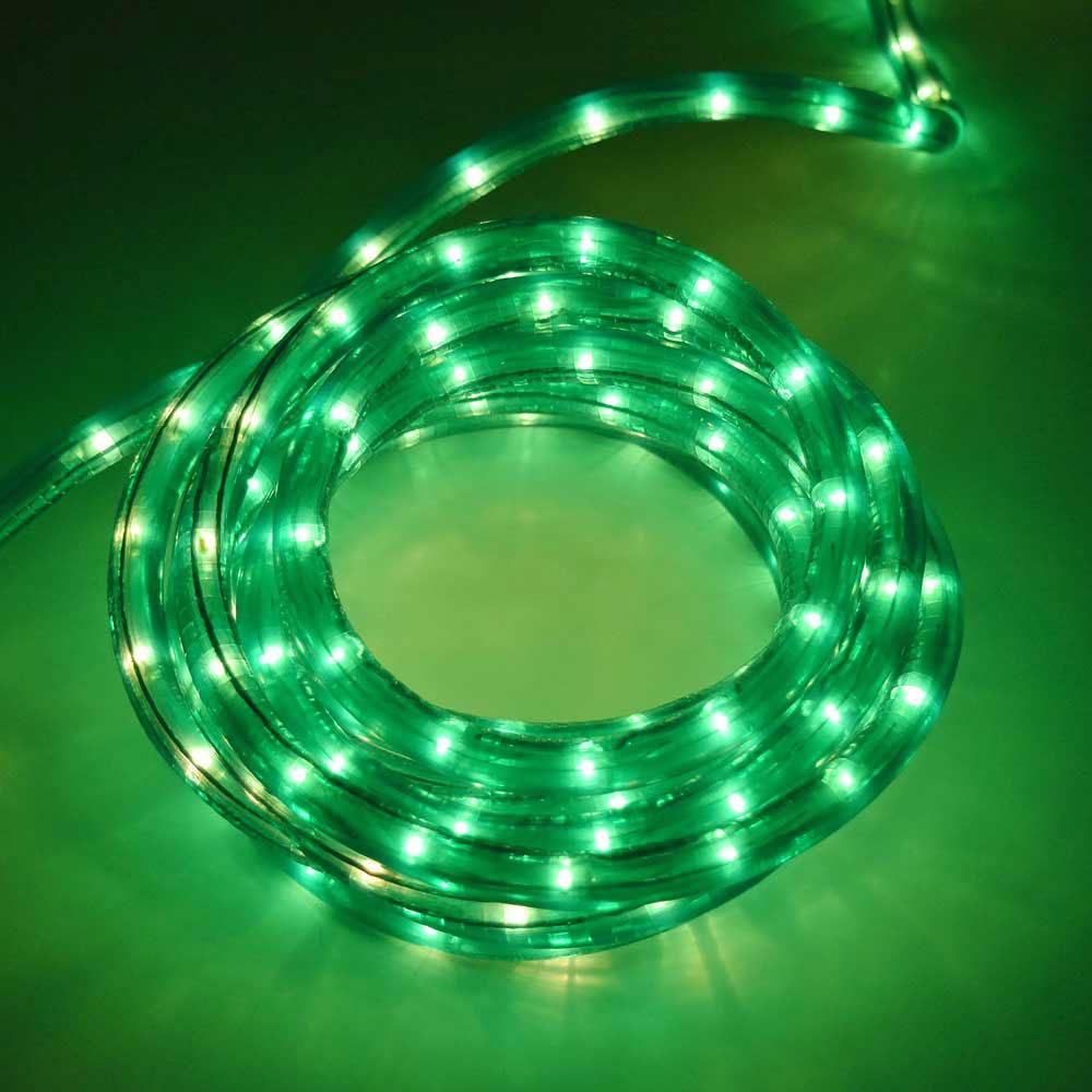 18 Rope Light 3 8 Diameter Green