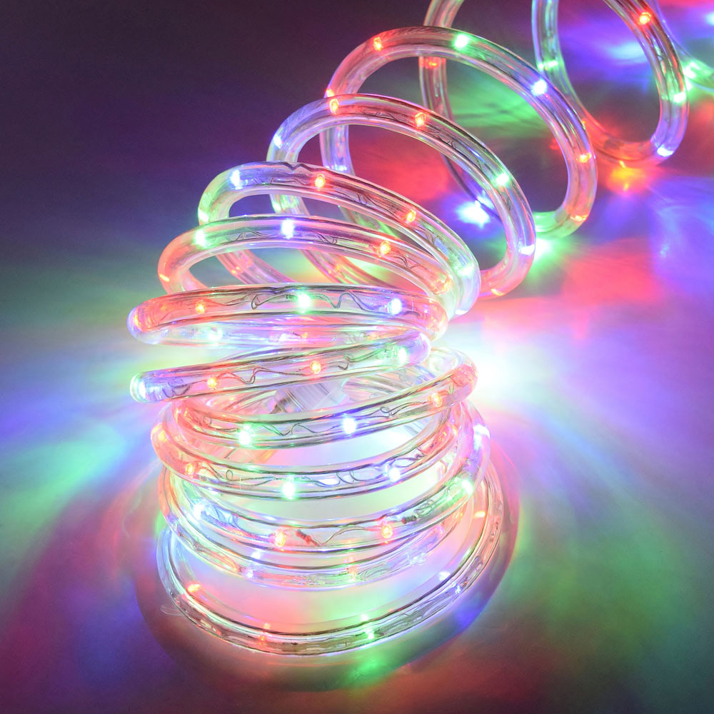 LED multi color rope light