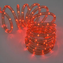 Red LED Rope Light