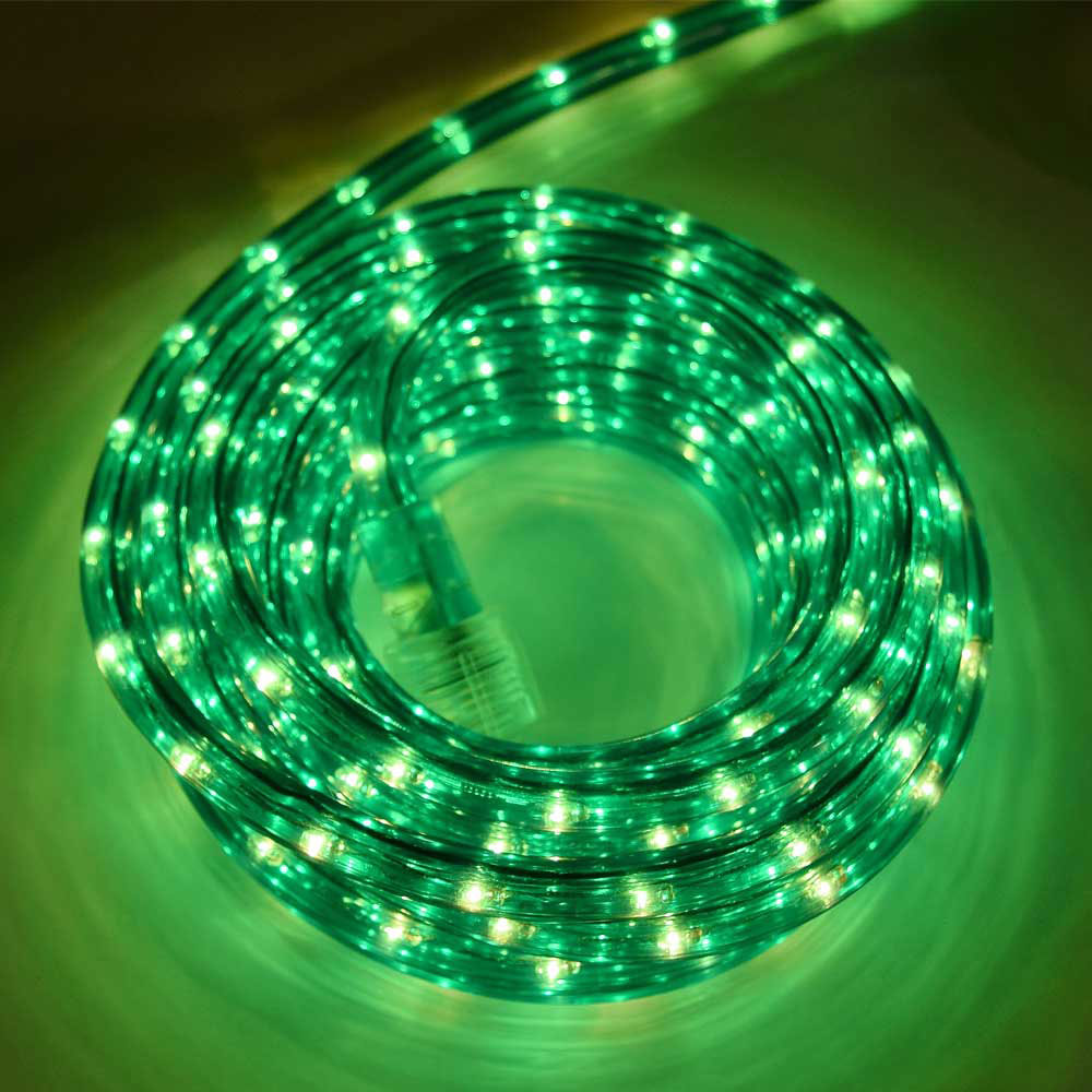 18 Green Rope Light 3 8 Diameter