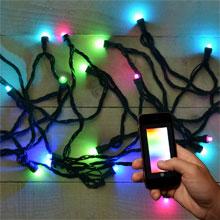 lumenplay app enabled christmas lights. Black Bedroom Furniture Sets. Home Design Ideas