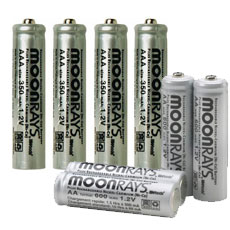Replacement Batteries - Solar Powered