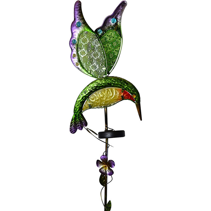 Moonrays 91442 Hummingbird Solar Stake Light