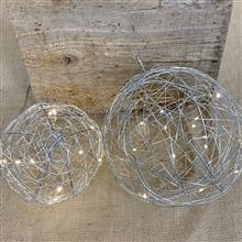 Silver Wire Sphere Lights GC2499070